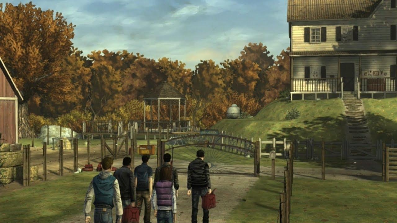 Фермерка! Прохождение the Walking Dead: the Game 7|если мне нравится всякая хрень