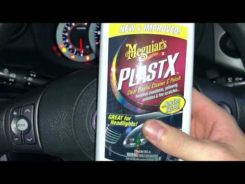 Clean scratches from your Odometer - Plastx