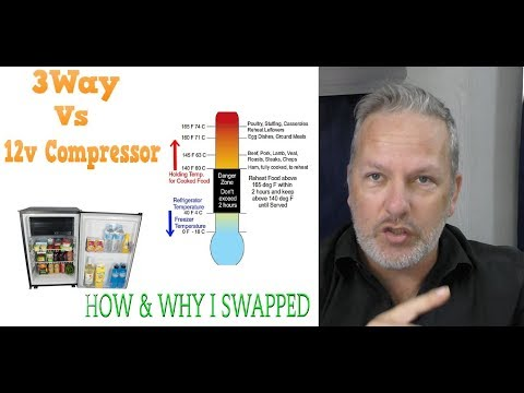 Swapping A 3-way Fridge With A Compressor Fridge. Why And How.