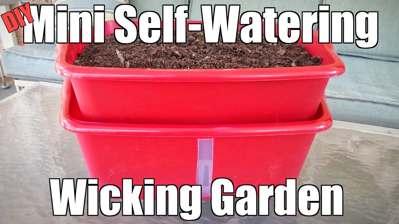 Make Self Watering Planters 15 Diy Self Watering Planters That Make Container Gardening Easy