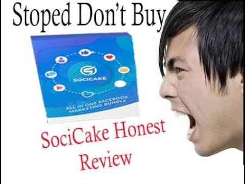 Fb SociCake Proof Review - Don't Buy Its Scam?. http://bit.ly/2ZvzOQD
