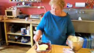 White Chocolate Cream Cheese Raspberry Bars