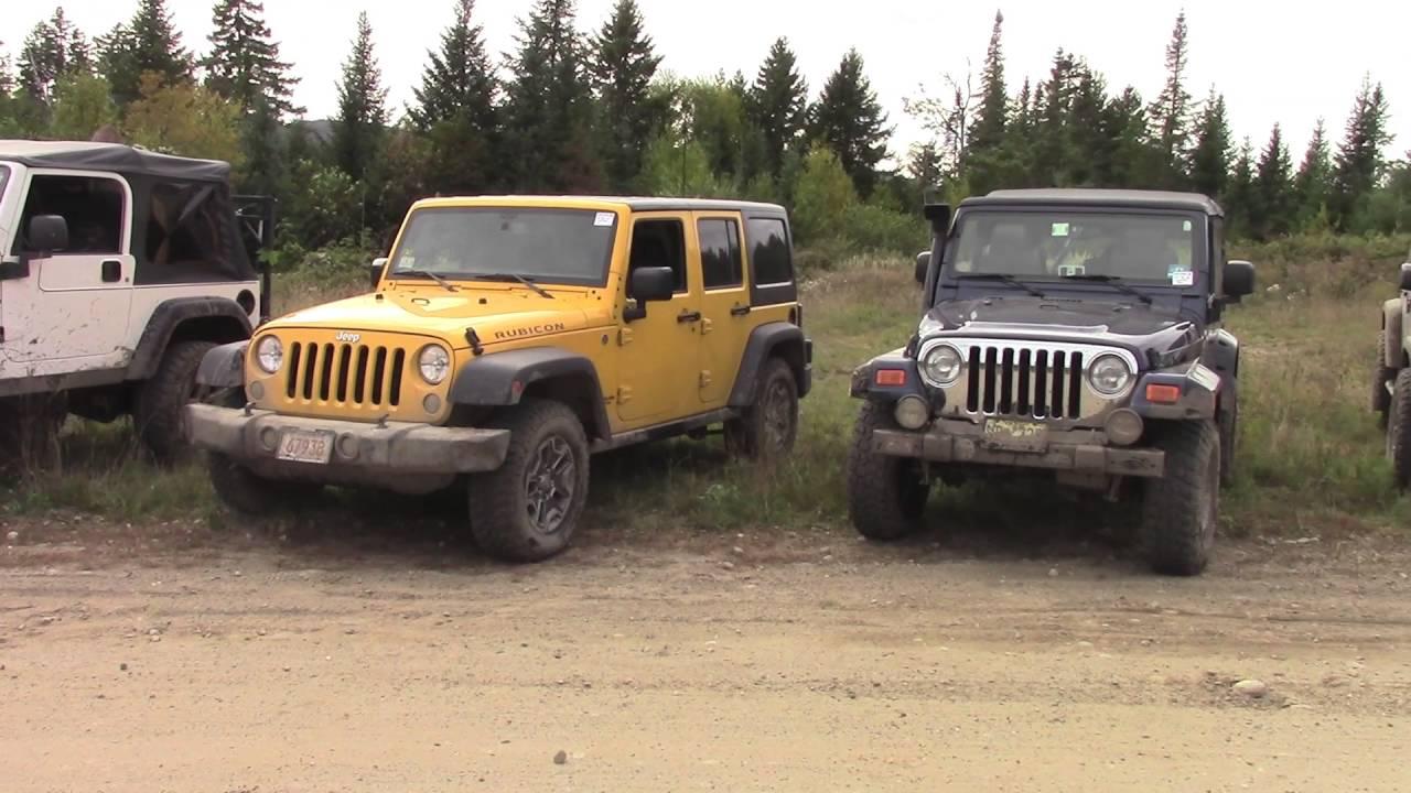 2016 Maine Mountain Jeep Jamboree Friday Youtube