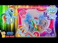 Unboxing Mainan Kuda Poni My Little Pony Rainbow Dash Toy - Sayap Berkilau dan Aksesoris Charm