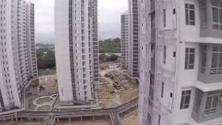 DJI Phantom 2: 興建中的洪福邨 Hung Fuk Estate (under construction)