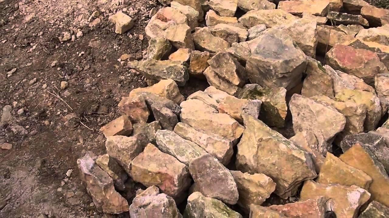 organisation d 39 un chantier pour montage de mur en pierres. Black Bedroom Furniture Sets. Home Design Ideas