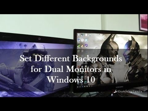 how to stop dual monitor mode windows 10