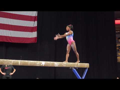 Simone Biles - Balance Beam - 2018 U.S. Gymnastics Championships - Podium Training