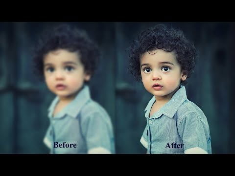 How To Fix Blurry Image In Photoshop