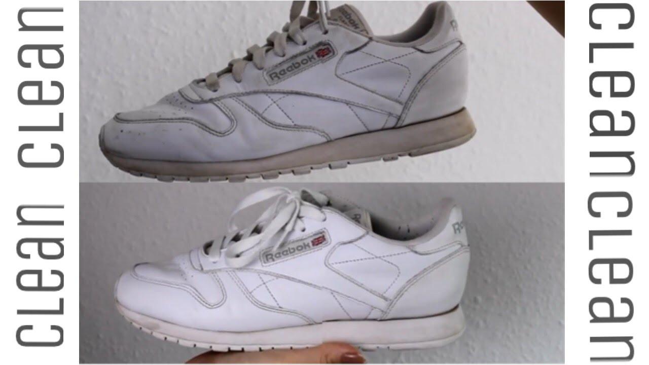 Weiße Sneaker wieder wie NEU </p>                     </div>   <!--bof Product URL --> <!--eof Product URL --> <!--bof Quantity Discounts table --> <!--eof Quantity Discounts table --> </div>                        </dd> <dt class=