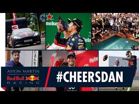 #CHEERSDAN   Daniel Ricciardo's Red Bull Racing Highlight Reel