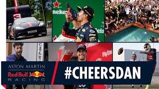 #CHEERSDAN | Daniel Ricciardo's Red Bull Racing Highlight Reel