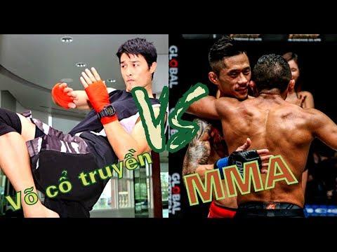 Khả năng THỰC CHIẾN: Võ cổ truyền Việt Nam và MMA - Ai hơn?