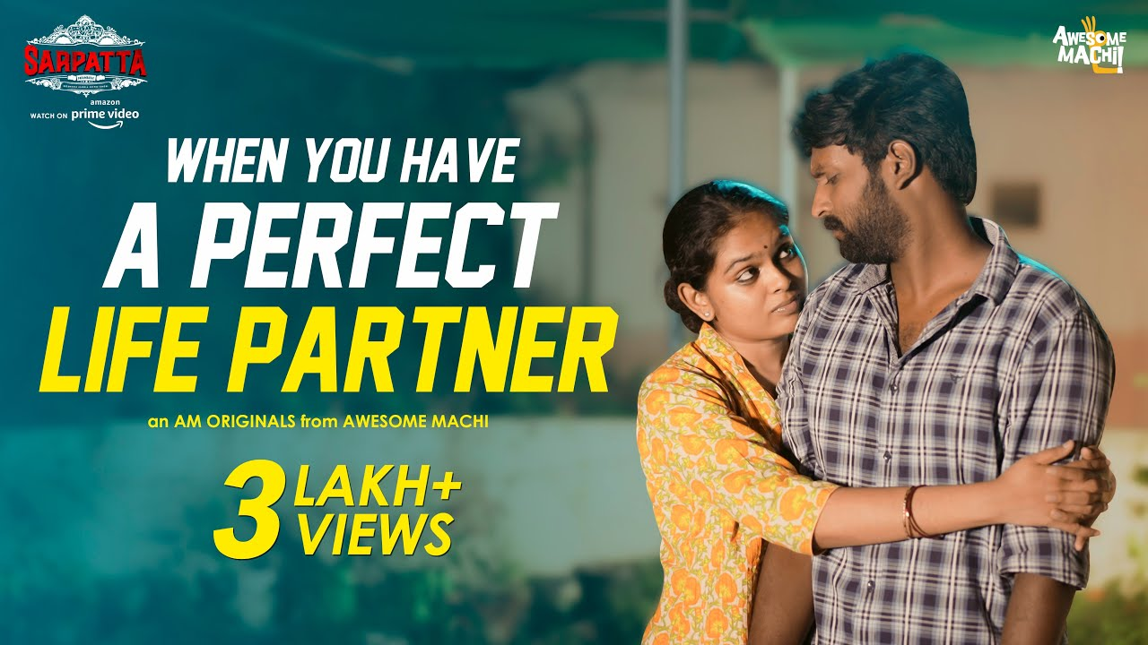When you have a perfect Life Partner | Awesome Machi | Sarpatta | English Subtitles