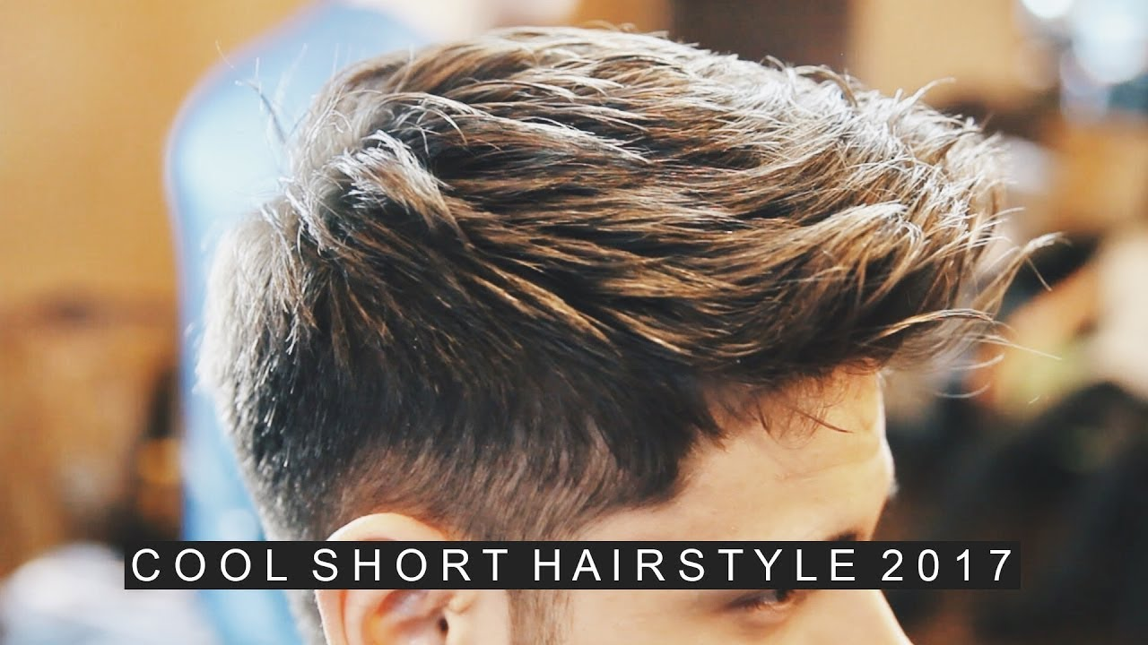 Mens Hairstyle 2017 Short Mens Hair Casual Cool Hairstyle