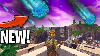 *NEW* METEOR THEORY! IS IT A METOR, A COMET OR A NEW QUESTLINE?! (Fortnite Meteor Tilted Towers)