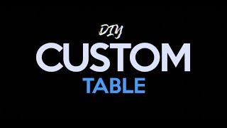 видео cast iron table base