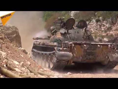 Syrian Army Unleashes Heavy Artillery and Airstrikes on Terrorists in Latakia