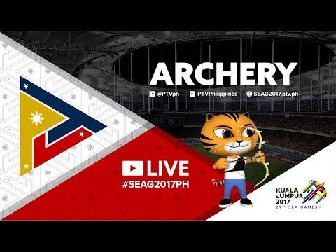 Archery - Compound Bronze Finals [Day -1] - 2017 SEA Games