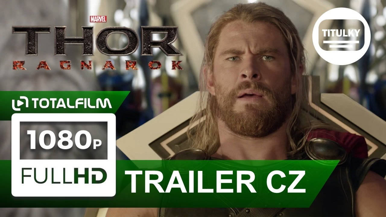Thor: Ragnarok (2017) CZ HD titulky trailer