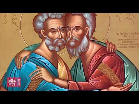Icono regalo de Atenágoras a Pablo VI