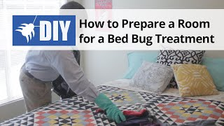 Bed Bug Treatment - How to Prepare a Room