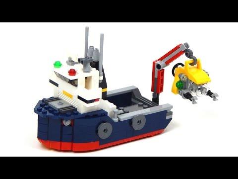 Lego Creator 31045 Ocean Explorer Lego Speed Build