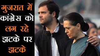 Gujarat में राज्यसभा चुनावों से पहले बड़ी तेजी से Congress छोड़ रहे हैं विधायक