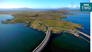 Drone footage of the Scottish Islands - Grand Tours of the Scottish Islands - BBC Two