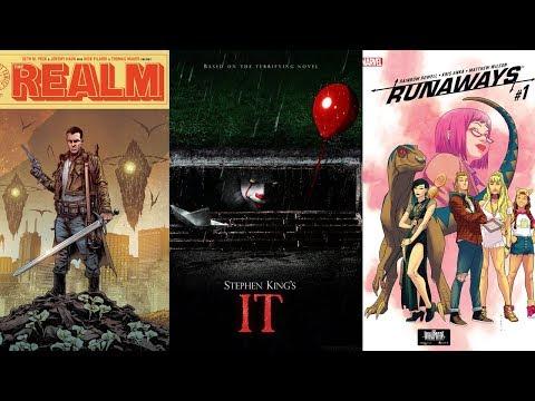 Comic Book Reviews from Pete's Basement Season 10, Episode 34 - 9.20.17