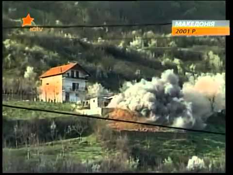Ukrainian Military Help to Macedonia in 2001   by Mykhailo M
