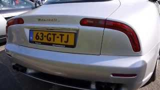 Maserati 3200GT startup and revving. Love the sound!