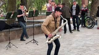 Madwinds Brass Band - Каверы на Валу (Чернигов, 28.04.2018)