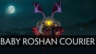 Dota 2 Baby Roshan Courier