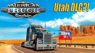 🔴American Truck Simulator🔴DLC Utah, Поедем посмотрим, Рейс в штат Юта🔴