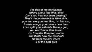The Game Feat. Kendrick Lamar - The City Official Lyrics [The R.E.D. Album]