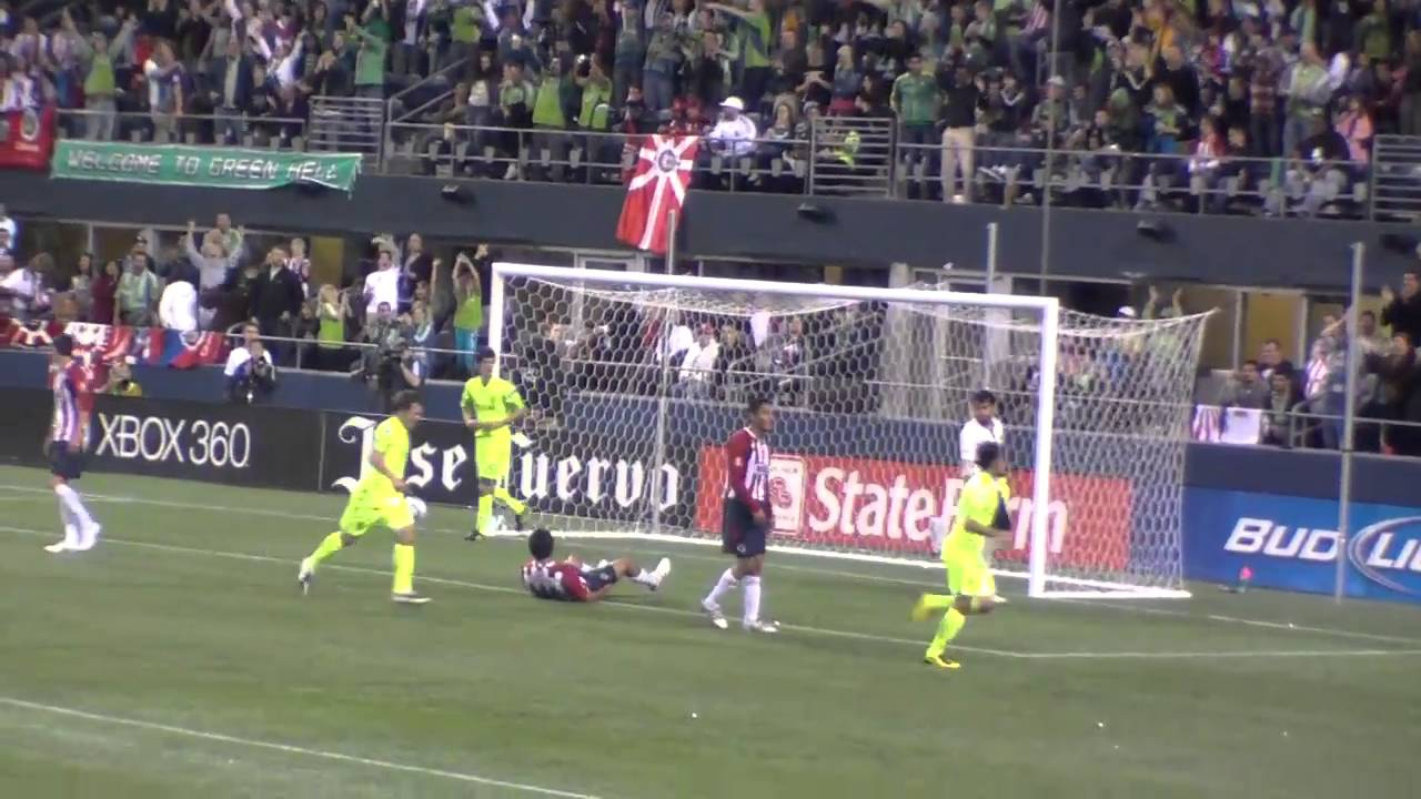 Gol Seattle Sounders Vs Chivas De Guadalajara Www Uninube Com