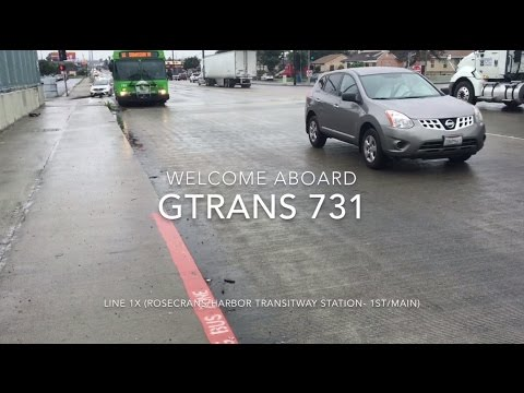 GTrans 2010 New Flyer GE40LF #731 | Coin Lloyd's Transit Hub