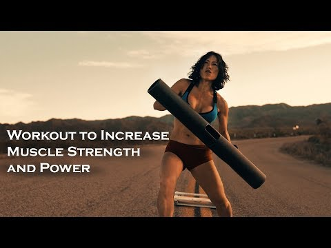 Best Workout To Increase Power - Strength - Speed with ViPR