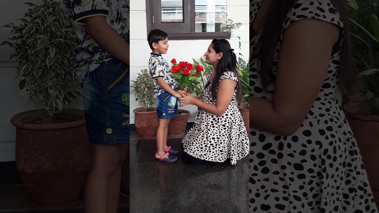 Happy mother's day song 4 year old boy