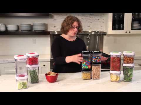 Cuisinart 8 Pc. Set Storageware (CFS-TC-S8BS) Demo Video