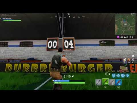 FORTNITE BR - MAX AMOUNT OF GOALS TO SCORE! (AND WHAT HAPPENS AFTER YOU SCORE THEM)