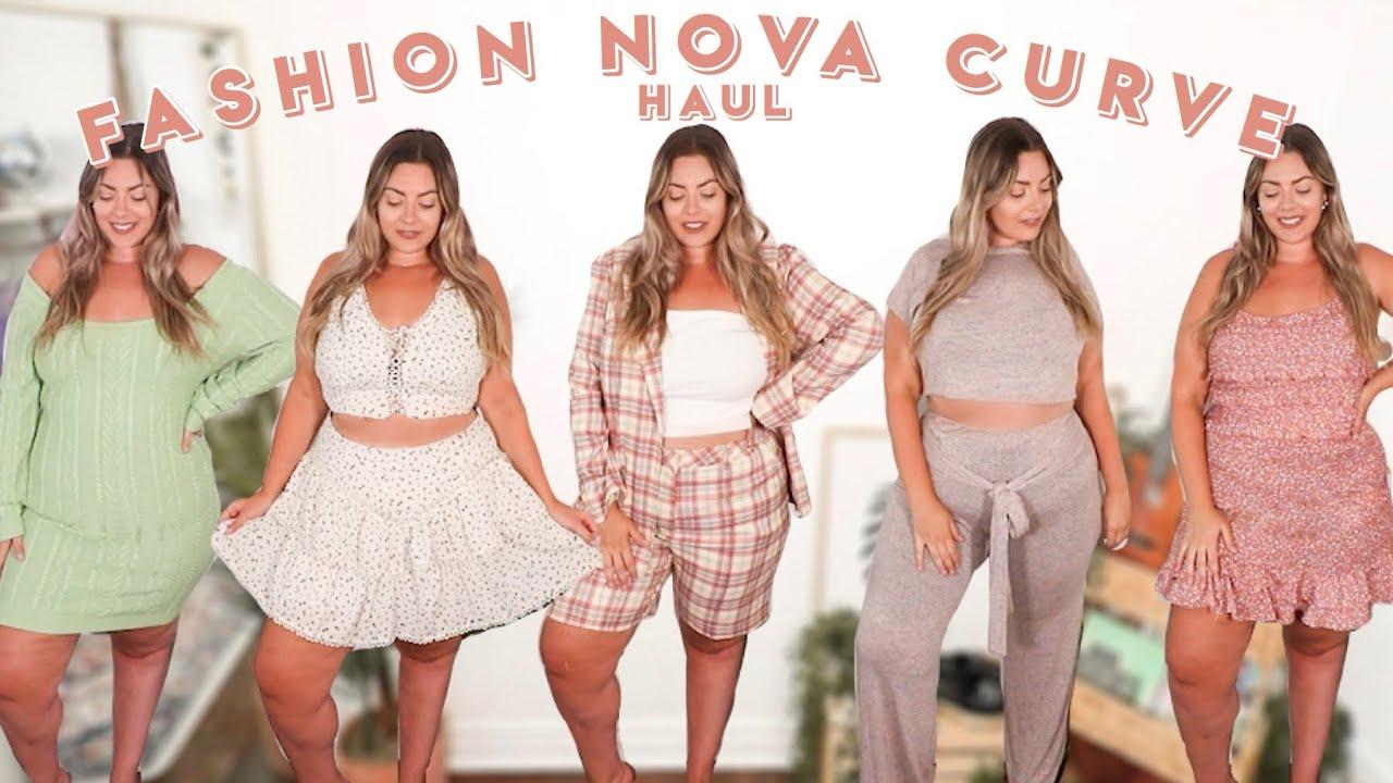 Fashion Nova Curve Plus Size Haul + Try On