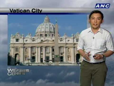 Weather Update: PH & Vatican
