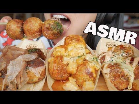ASMR TAKOYAKI (EATING SOUNDS)   SAS-ASMR