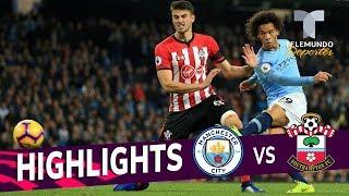 Manchester City vs. Southampton: 6-1 Goals & Highlights | Premier League | Telemundo Deportes