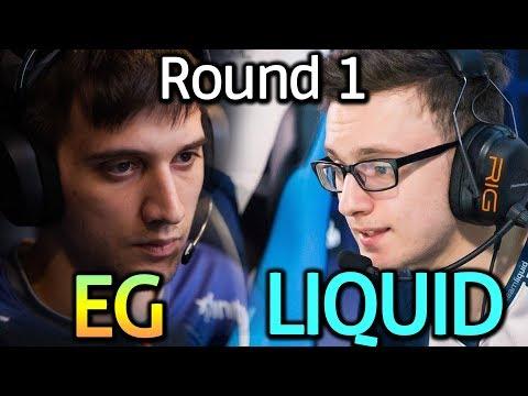 EG vs LIQUID | The Bucharest Major Dota 2 | Group Stage Round 2