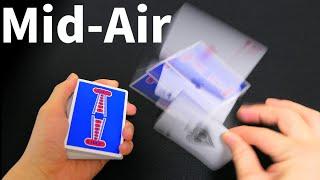 4 Card Change in MidAir [Magic Trick Tutorial]