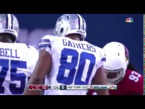 Rico Gathers scores his first NFL TD