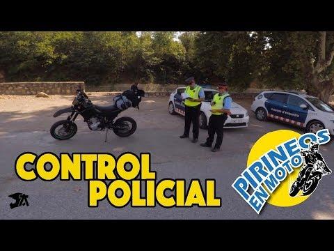 CONTROL POLICIAL COMPLETO EN MOTO Mossos d'esquadra #7